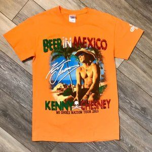 Kenny Chesney Beer In Mexico Graphic T-shirt